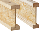 Light composite wood-based beams and columns