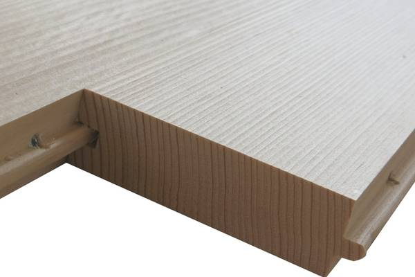 Solid softwood boards