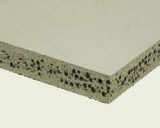 Cement-bonded reinforced lightweight concrete board